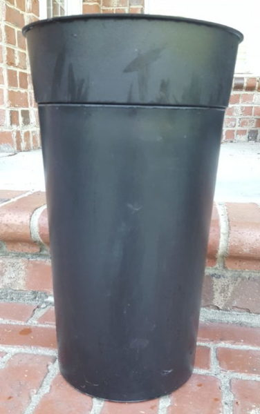 diy self watering pot container and reservoir