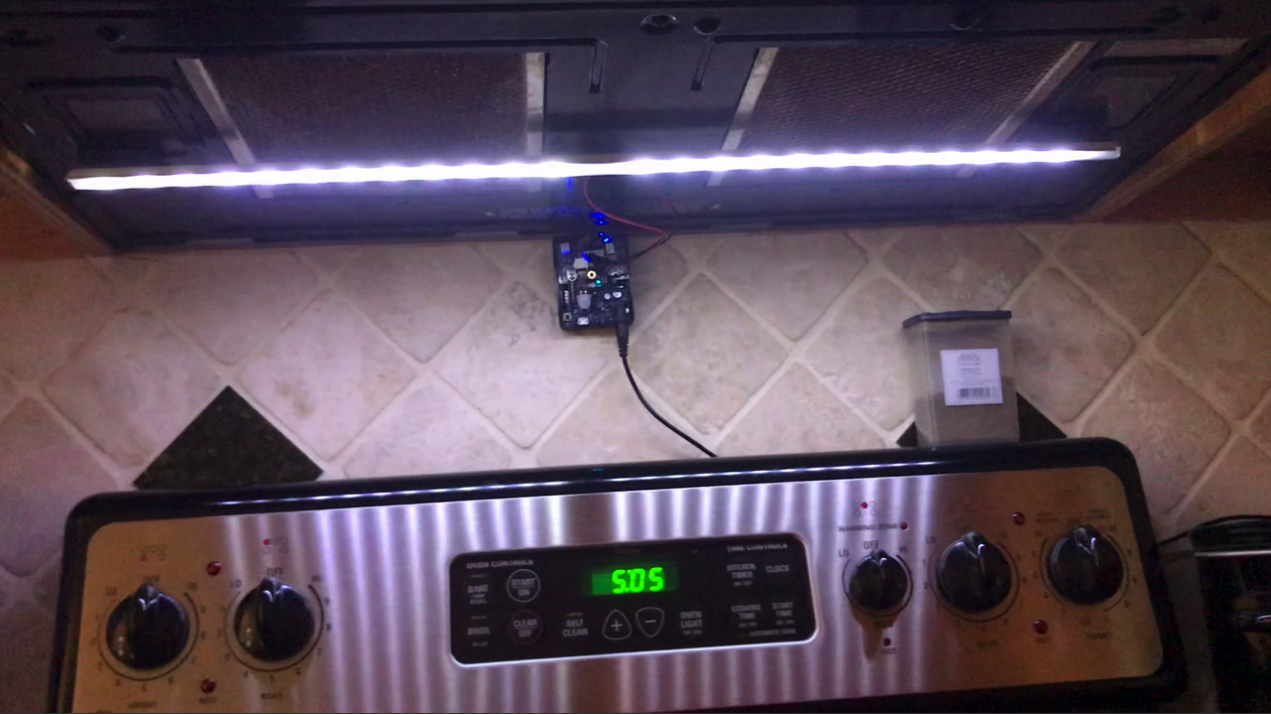 DIY Motion Activated Stove Light